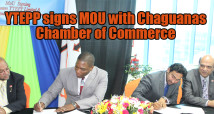 (MoU) with the Chaguanas Chamber of Commerce